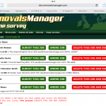 October updates to Removals Manager